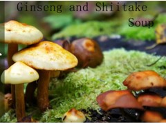 Ginseng and Shiitake Soup